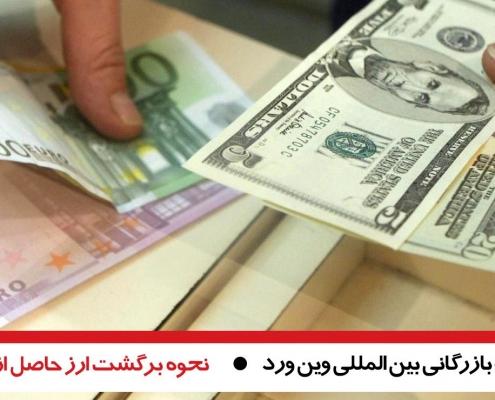 تصويب بسته سياستی نحوه برگشت ارز حاصل از صادرات در سال ٩٨