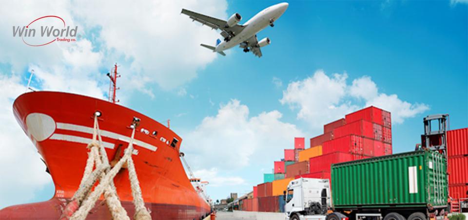 واردات از طریق کشتی