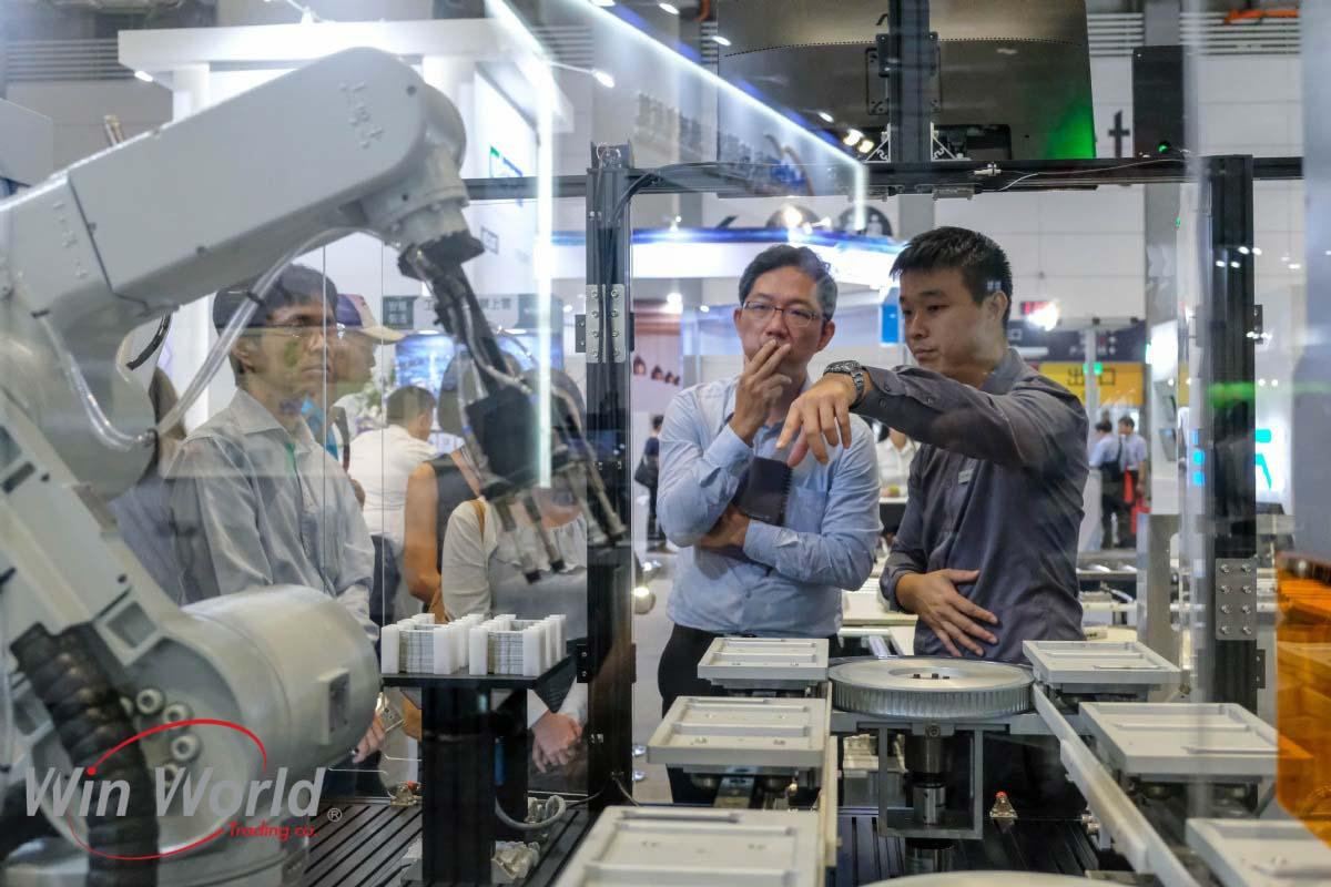 ربات در نمایشگاه های تایوان 2